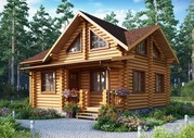 Проектирование и строительство дома из оцилиндрованного бревна