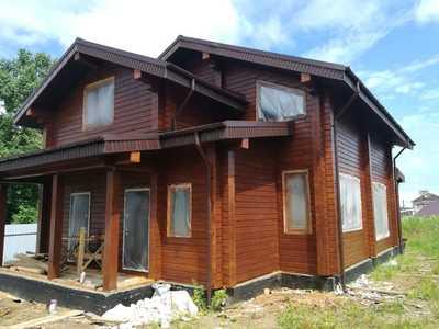 Дома из клееного бруса от официального дилера в Хабаровске     - main